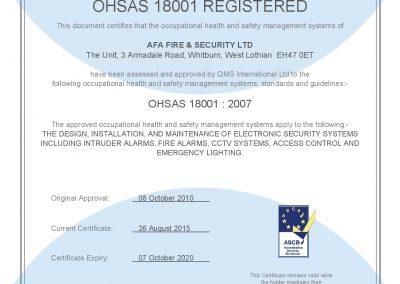 QMS ISO 18001